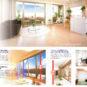 ハイサッシ|バルコニーに面する窓は2.2mのハイサッシ採用!