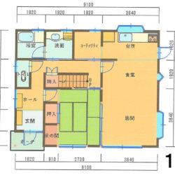 間取1F|宮崎市西池小校区で不動産買取、不動産売買仲介のことならエムズクリエイト株式会社