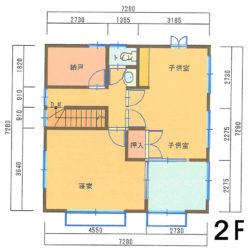 間取2F|宮崎市西池小校区で不動産買取、不動産売買仲介のことならエムズクリエイト株式会社